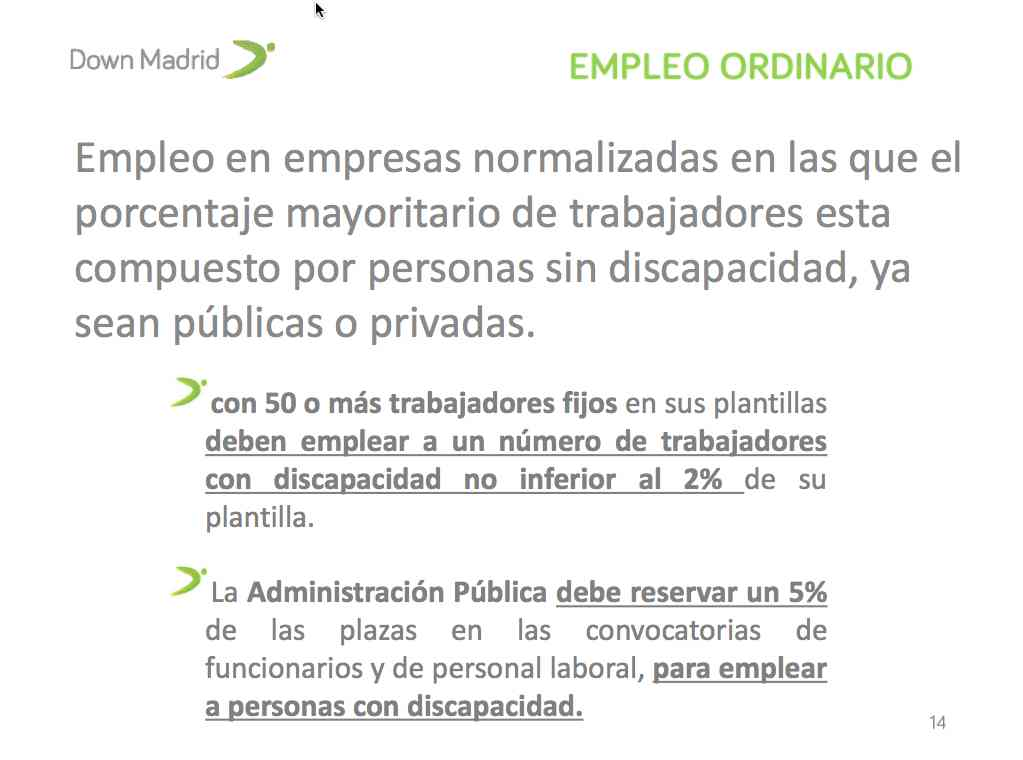 empleo ordinario